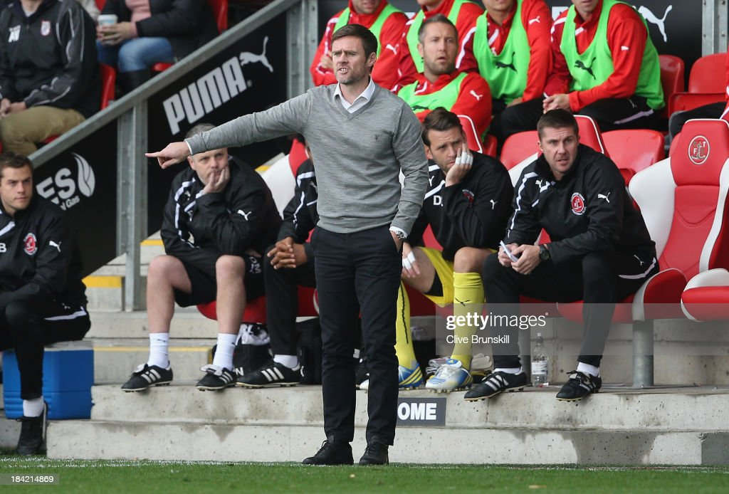 Fleetwood Town v Chesterfield - Sky Bet League Two