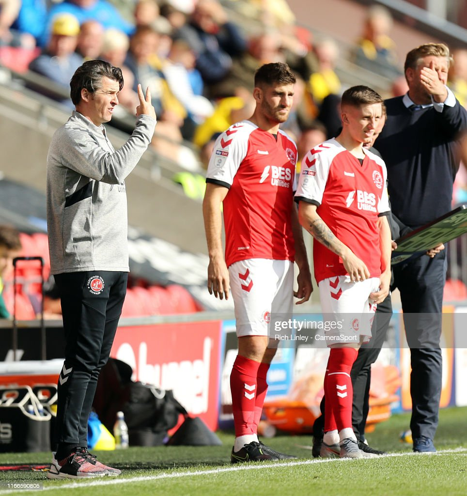fleetwood town manager betting