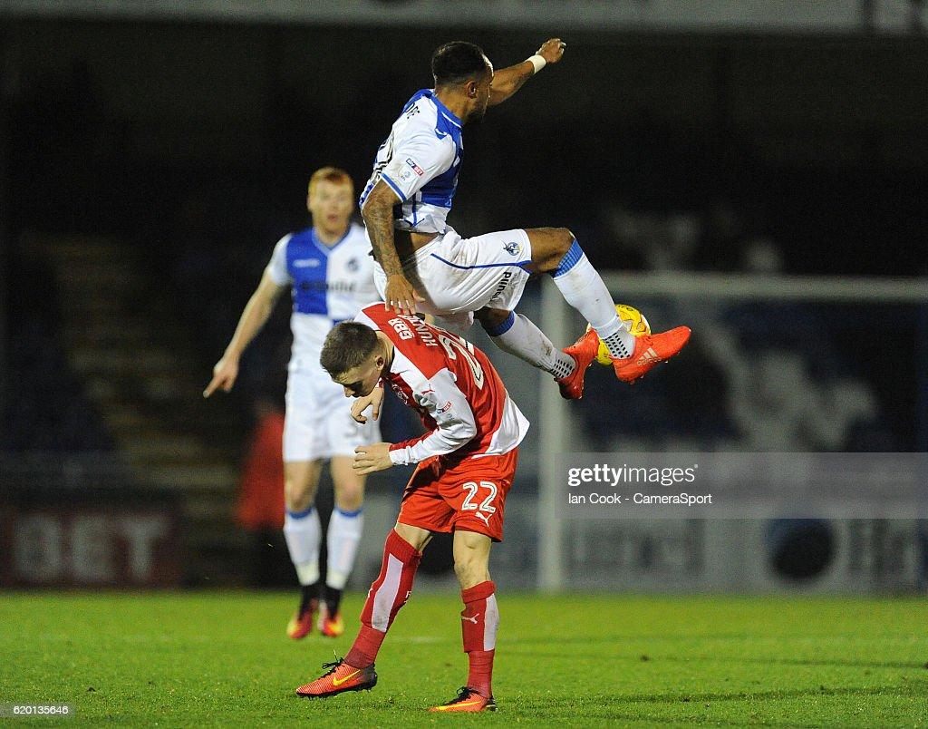 Bristol Rovers v Fleetwood Town - Sky Bet League One : News Photo