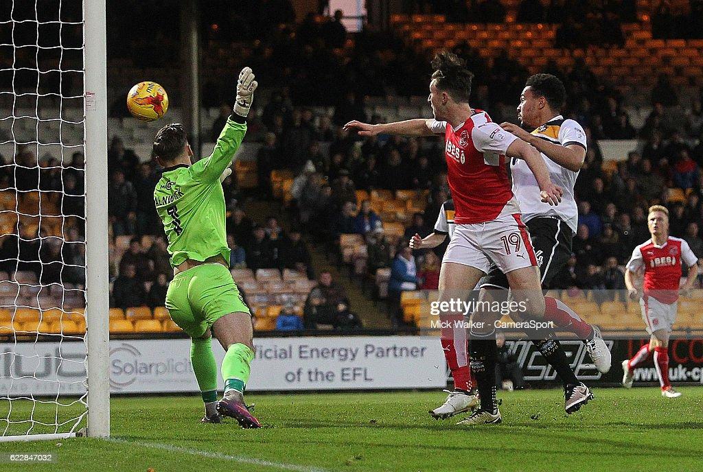 Port Vale v Fleetwood Town - Sky Bet League One : News Photo
