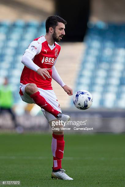 Fleetwood Town's Conor McLaughlin in action during the Sky Bet League One match between Millwall and Fleetwood Town at The Den on October 22 2016 in...