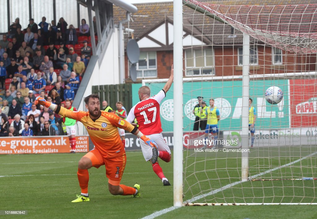 Fleetwood Town v Rochdale - Sky Bet League One : News Photo