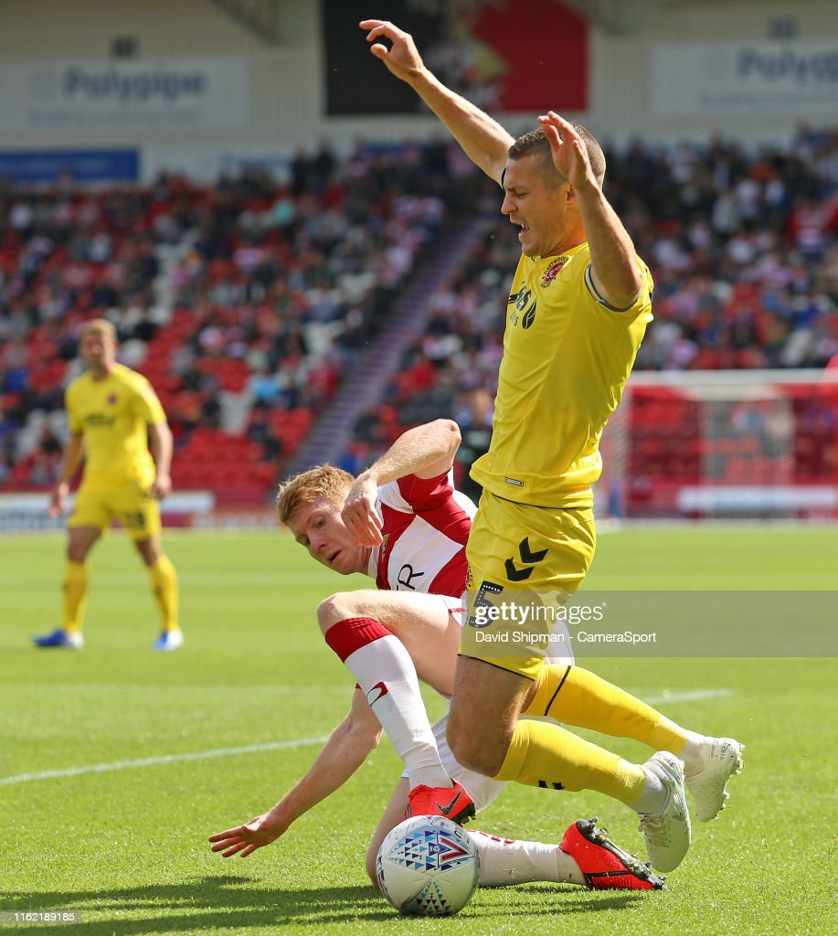 Doncaster Rovers v Fleetwood Town - Sky Bet League One : News Photo