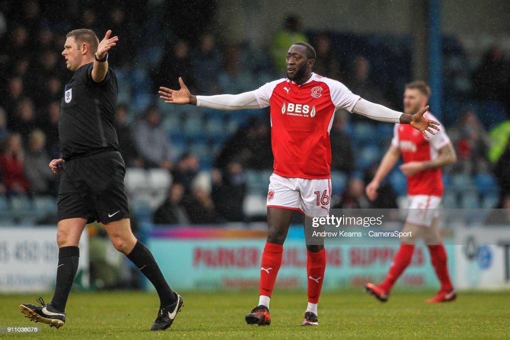 Gillingham v Fleetwood Town - Sky Bet League One : News Photo