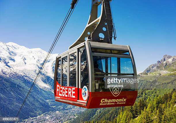 Flegere cable car at Chamonix