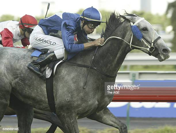 Flemington Horseracing Race 6 Despite not winning a race in more than 2 years and paying over $50 for the win Steven Arnold rode Grey Song to victory...