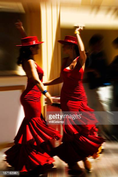 flamenco - flamenco dancing stock photos and pictures