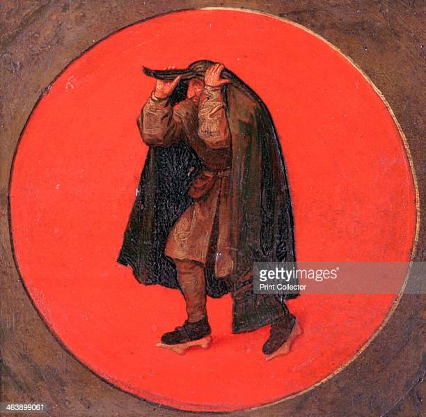 Flemish proverb c15581560 Detail from 'Twelve Flemish Proverbs' From the Museum Mayer van der Berg Antwerp Belgium
