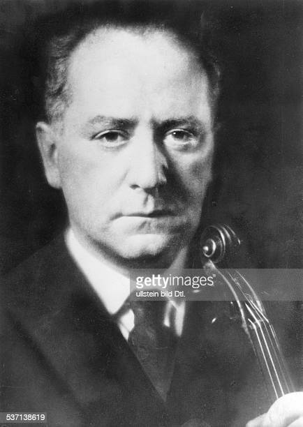 Flesch, Carl , Musiker, Violinist, Ungarn, Porträt, - 1933