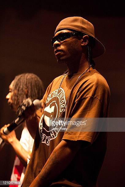 FleshNBone aka Stanley Howse of Bone ThugsnHarmony performs in front of a sold out crowd at Newport Music Hall on April 1 2010 in Columbus Ohio