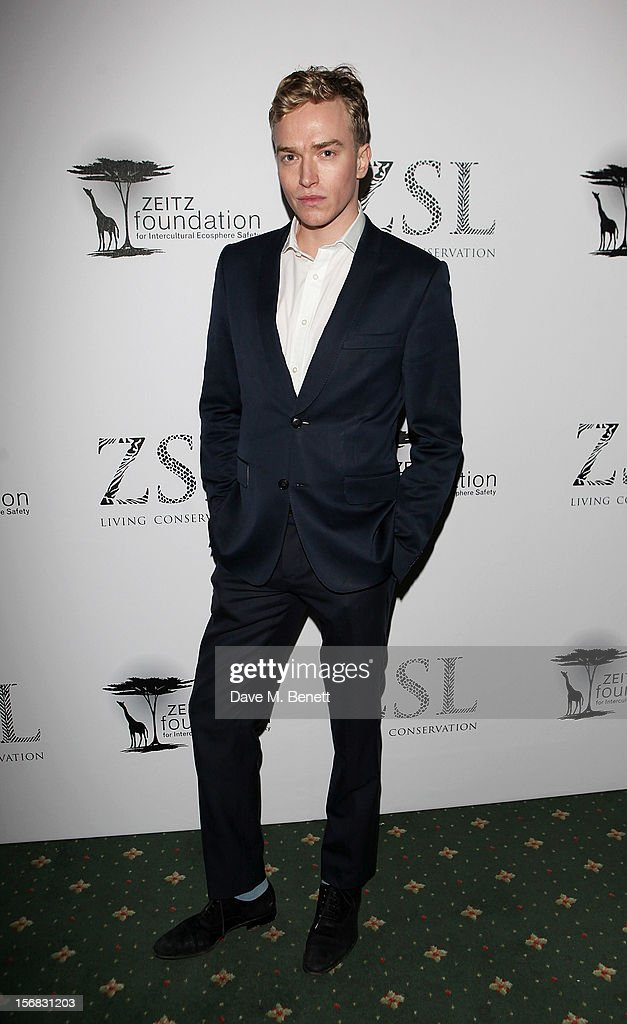 Fletcher Cowan arrives at the Zeitz Foundation and ZSL Gala at London Zoo on November 22, 2012 in London, England.