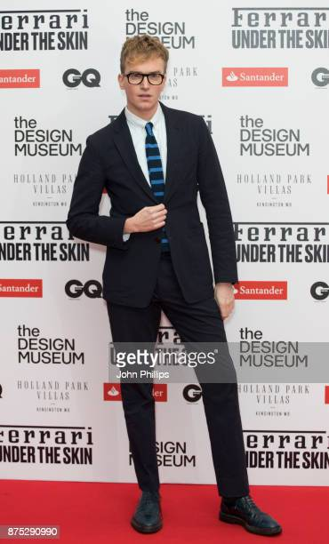 Fletcher Cowan attends the Ferrari X The Design Museum event held at The Design Museum on November 14 2017 in London England