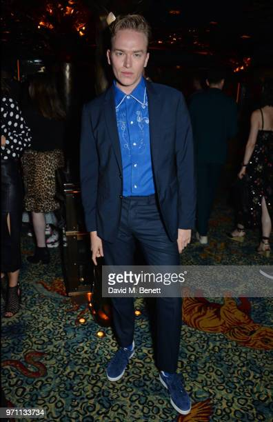 Fletcher Cowan attends the GQ Style and Browns LFWM Party at Annabels on June 10 2018 in London England