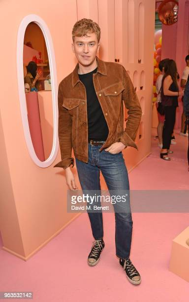 Fletcher Cowan attends the Koibird store launch on May 1 2018 in London England