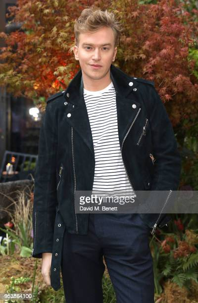 Fletcher Cowan attends the launch of Petersham Nurseries Covent Garden hosted by The Boglione family at Petersham Nurseries on May 2 2018 in London...