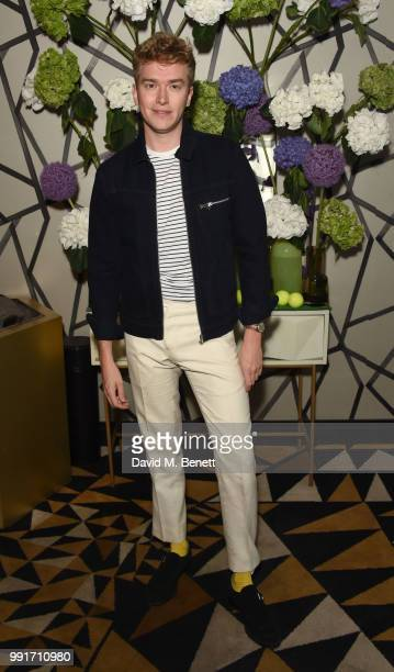 Fletcher Cowan attends the launch of Quaglino's Q Decades Summer Series on July 4 2018 in London England