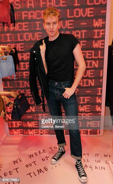 Fletcher Cowan attends the Maje PopUp store launch with Women for Women International on November 20 2017 in London England