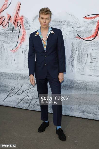 Fletcher Cowan attends the Serpentine Summer Party 2018 at The Serpentine Gallery on June 19 2018 in London England