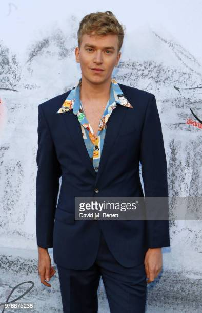 Fletcher Cowan attends the Serpentine Summper Party 2018 at The Serpentine Gallery on June 19 2018 in London England