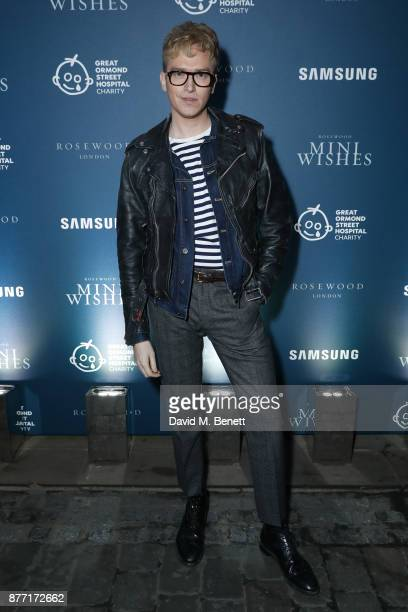 Fletcher Cowanattends a Christmas Party at Rosewood London to celebrate the launch of Rosewood Mini Wishes in aid of Great Ormond Street Hospital...