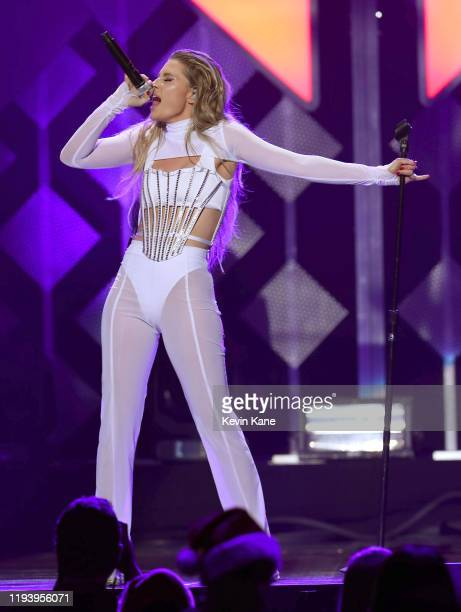 Fletcher performs onstage during the iHeartRadio's Z100 Jingle Ball 2019 at Madison Square Garden on December 13, 2019 in New York City.