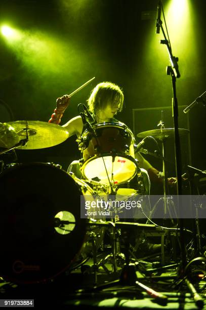 Fletcher Shears of The Garden performs on stage during Burguer Invasion Festival at Sala Apolo on February 17 2018 in Barcelona Spain