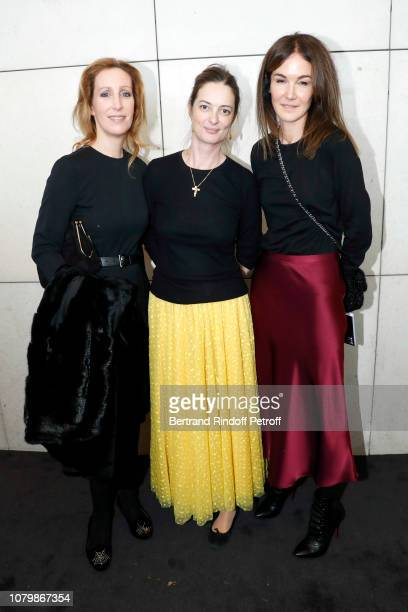Fleur D'Andlau Angelique Motte and Veronique Tajan attend Cendrillon choregraphing by Rudolf Noureev during Reve d'Enfant Charity Gala at Opera...