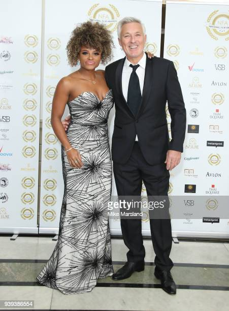 Fleur East and Martin Kemp attend the National Film Awards UK at Portchester House on March 28 2018 in London England