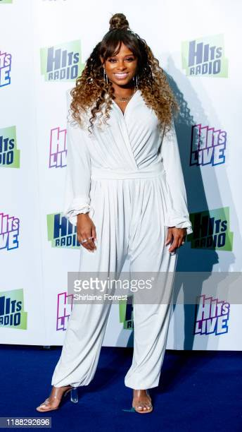 Fleur East attends Hits Radio Live 2019 at Manchester Arena on November 17 2019 in Manchester England