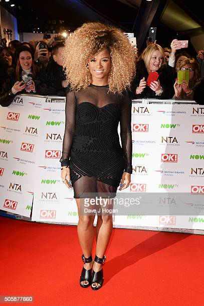 Fleur East attends the 21st National Television Awards at The O2 Arena on January 20 2016 in London England