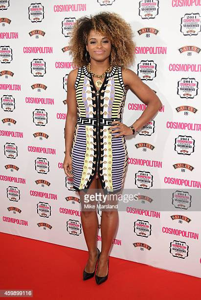 Fleur East attends the Cosmopolitan Ultimate Women of the Year Awards at One Mayfair on December 3 2014 in London England
