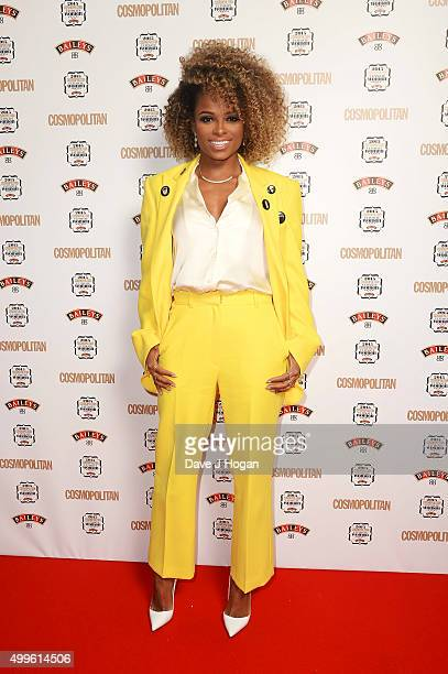 Fleur East attends the Cosmopolitan Ultimate Women Of The Year Awards at One Mayfair on December 2 2015 in London England