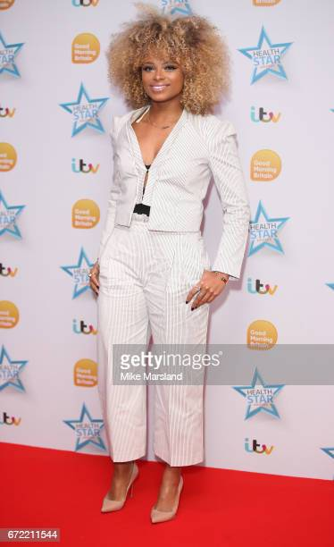 Fleur East attends the Good Morning Britain Health Star Awards on April 24 2017 in London United Kingdom