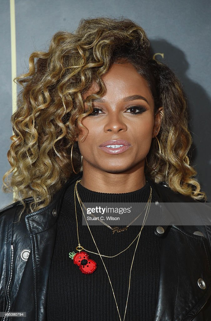 Fleur East attends the Music Industry Trust Awards at The Grosvenor House Hotel on November 2, 2015 in London, England.