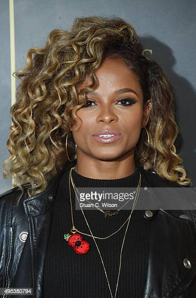 Fleur East attends the Music Industry Trust Awards at The Grosvenor House Hotel on November 2 2015 in London England