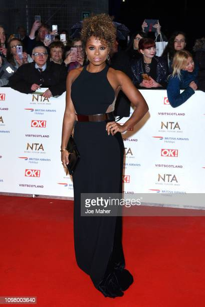 Fleur East attends the National Television Awards held at The O2 Arena on January 22 2019 in London England