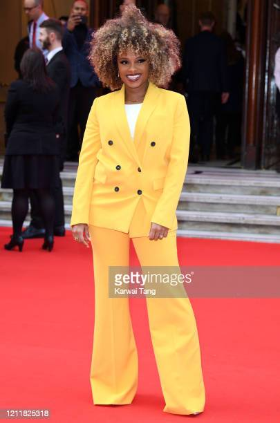 Fleur East attends the Prince's Trust And TK Maxx & Homesense Awards at London Palladium on March 11, 2020 in London, England.