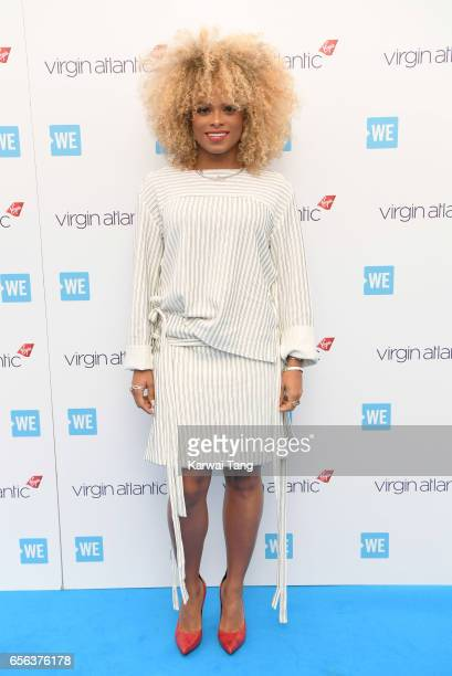 Fleur East attends WE Day UK at The SSE Arena on March 22 2017 in London United Kingdom