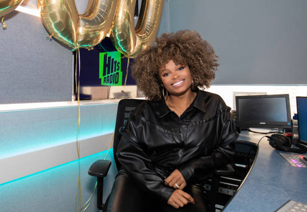 GBR: Fleur East Celebrates Her 500th Show On Hits Radio Breakfast