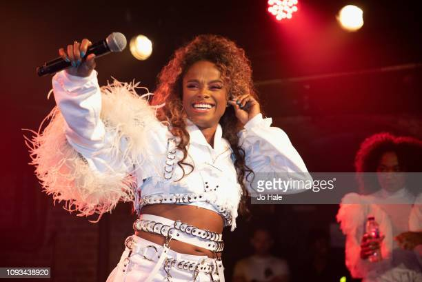 Fleur East performs at GAY Club Heaven on January 12 2019 in London England