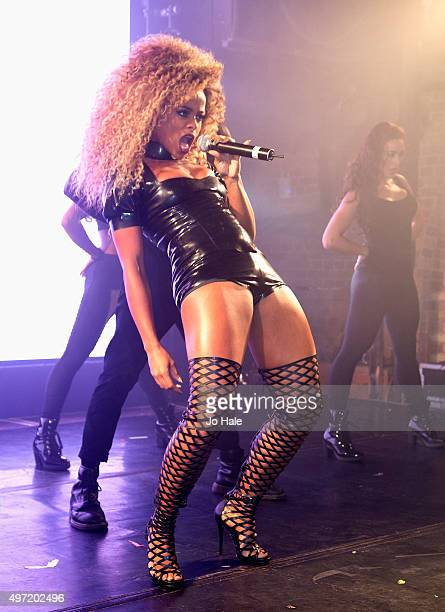 Fleur East performs for GAY Club at Heaven on November 14 2015 in London England