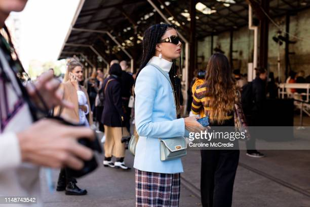 Fleur Egan at MercedesBenz Fashion Week Resort 20 Collections on May 13 2019 in Sydney Australia