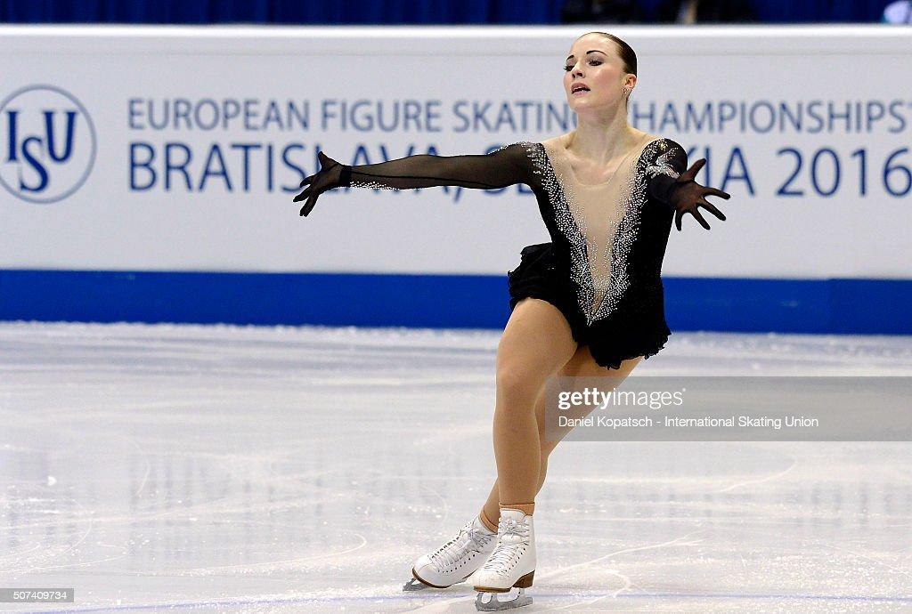 European Figure Skating Championships 2016  - Day 3 : News Photo