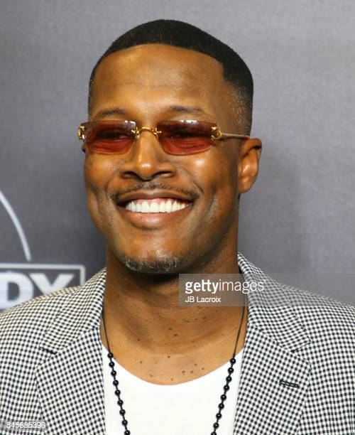 Flex Alexander attends Netflix Presents Russell Simmons 'Def Comdey Jam 25' Special Event at The Beverly Hilton Hotel on September 10 2017 in Beverly...