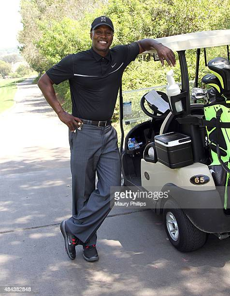 Flex Alexander attends the 3rd Annual Celebrity Golf Classic hosted by Cedric The Entertainer at Spanish Hills Country Club on August 17 2015 in...