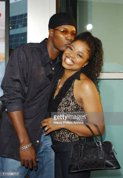 Flex wife Shanice Wilson during Barbershop Premiere Los Angeles at Archlight Cinerama Dome in Hollywood California United States