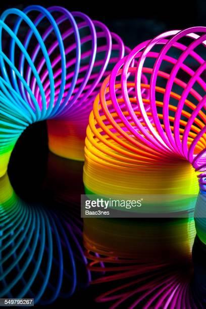 Flexibility - Colorful Slinky Toy