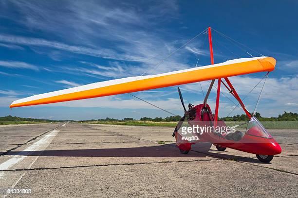 flex-ala di aereo - aereo ultraleggero foto e immagini stock