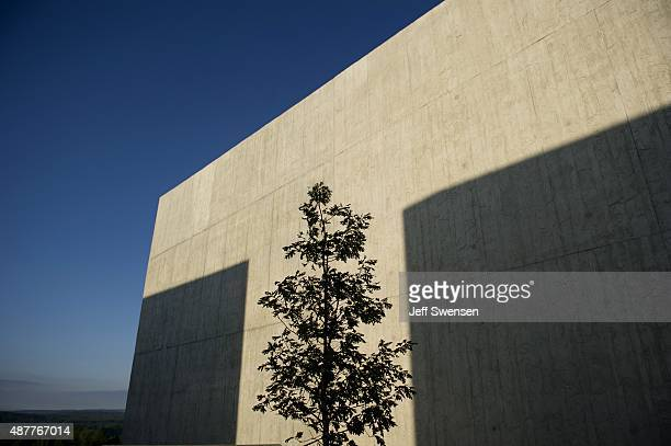 Flight 93 National Memorial is seen during the 14th anniversary of the 9/11 attack in Shanksville Pennsylvania Homeland Security Secretary Jeh...
