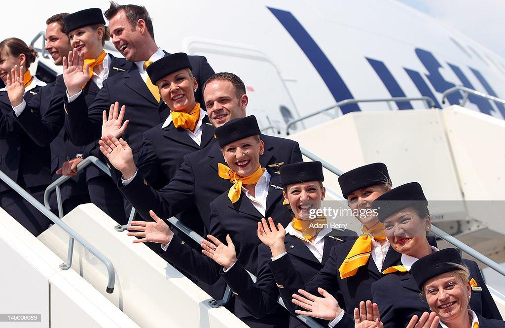 "Lufthansa Christens ""Berlin"" Airbus A380 : News Photo"